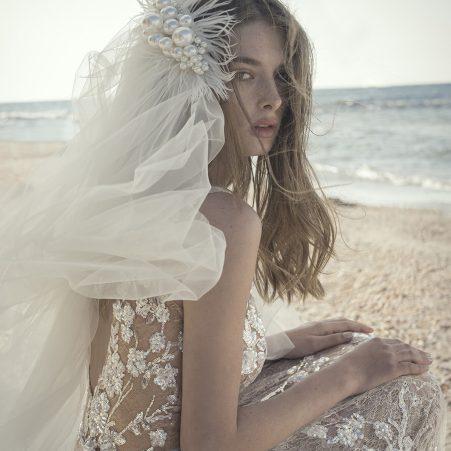 Alon Livne White - Pearl Wedding Veil