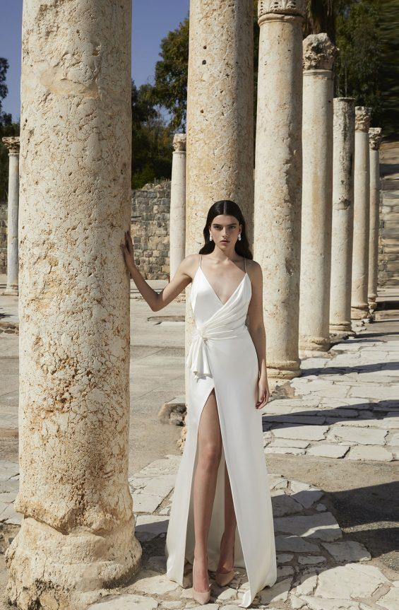 Ivy Feather Wedding Dress