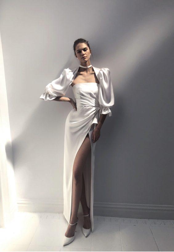 Jackie Wedding Gown & Bolero