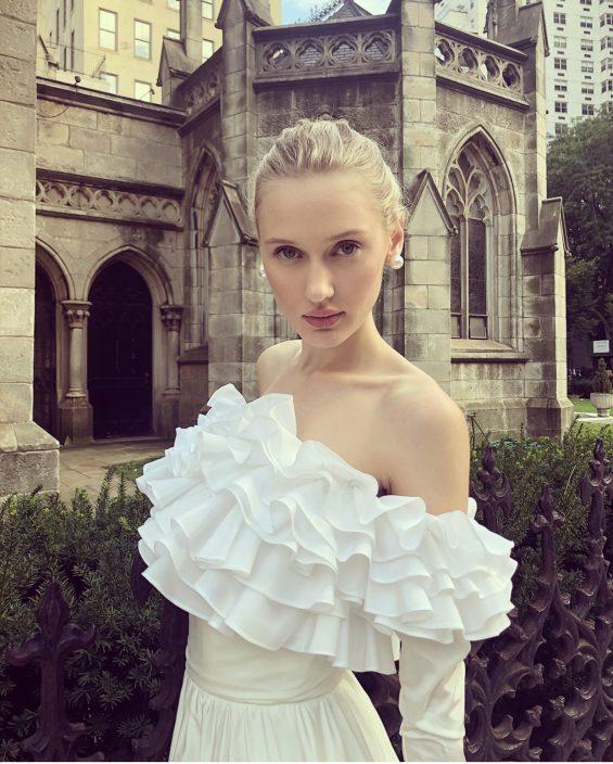 Jessa Wedding Gown & Bolero