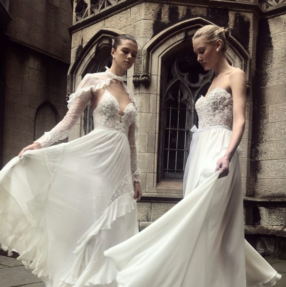 Florette and Tiffany Wedding Gown
