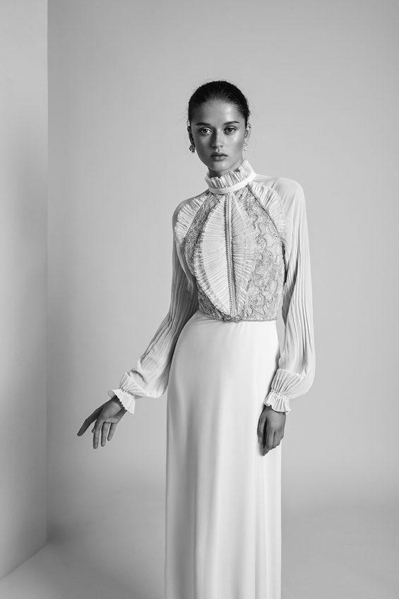 Violet Wedding Gown